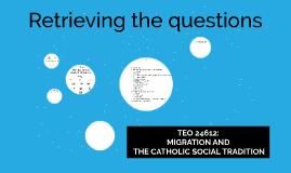 Retrieving the Questions