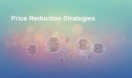 Price Reduction Strategies