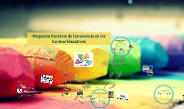 Programa Convivir 2014