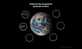 Radioactivity Assignment
