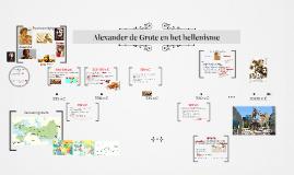 (BB) Alexander de Grote en het hellenisme