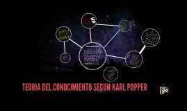 Copy of TEORIA DEL CONOCIMIENTO SEGUN KARL POPPER