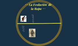 ^^ La Evolución  de la Ropa ^^