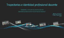 Trayectorias e identidad profesional
