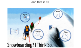 The different Components of a Snowboard and their Application in the Physics of Tricks
