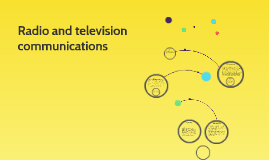 Radio and television communications