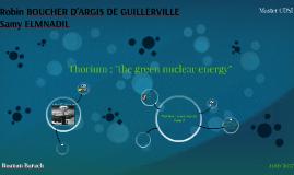 Thorium energy