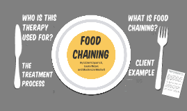 Food Chaining Treatment Approach Model
