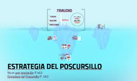 ESTRATEGIA DEL POSCURSILLO