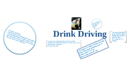 hish risk activity drink driving
