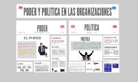 Copy of PODER Y POLITICA EN LAS ORGANIZACIONES