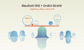 Risultati IMS > Ordini Diretti