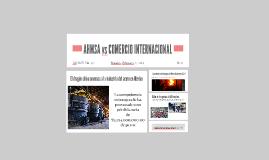 AHMSA vs COMERCIO INTERNACIONAL