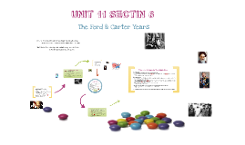 Ford & Carter Years
