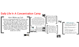 Daily Life In A Concentration Camp