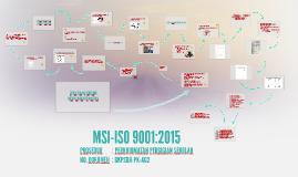 MSI-ISO 9001:2015