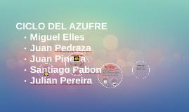 Copy of CICLO DEL AZUFRE