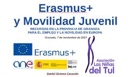 RECURSOS EN LA PROVINCIA DE GRANADA PARA EL EMPLEO Y LA MOVILIDAD EN EUROPA -Movilidad Juvenil2017