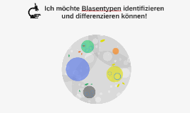 Ich möchte Blasentypen identifizieren und differenzieren kön