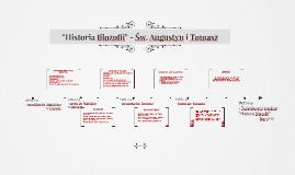 Historia filozofii - Św Augustyn i Tomasz