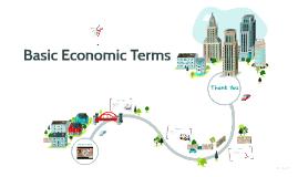 Basic Economic Terms