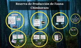 Copy of Copy of Reserva de Producción de Fauna Chimborazo