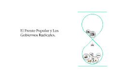 El Frente Popular y Los Gobiernos Radicales.