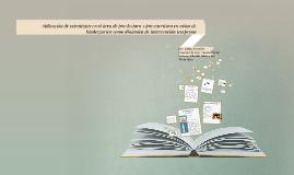 Copy of Aplicación de estrategias en el área de pre-lectura y pre-es