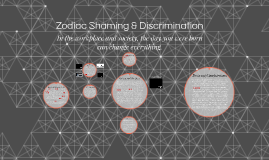 Zodiac Shaming & Discrimination