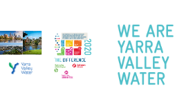 2016 Yarra Valley Water - The DIFFERENCE (2016)