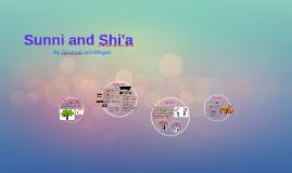 Sunni and Shi'a