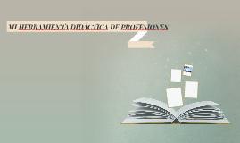 MI HERRAMIENTA DIDÁCTICA DE PROFESIONES