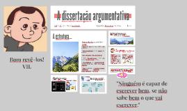 Copy of A dissertação argumentativa