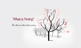 What Is Poetry