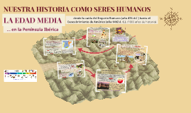 NUESTRA HISTORIA COMO SERES HUMANOS