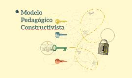 Modelo pedagogico constructivista
