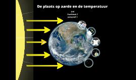 1HV H2 P2 De plaats op aarde en de temperatuur