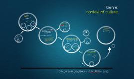 Copy of Genre: context of culture in text