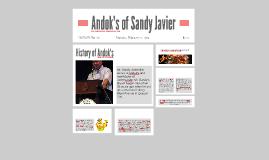 Sandy Javier of Andok's