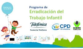 Copy of Erradicacion del Trabajo Infantil 2014