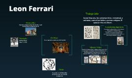 Copy of Leon Ferrari