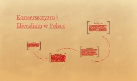 Konserwatyzm i liberalizm w Polsce
