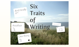 What makes a piece of writing
