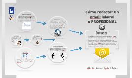 Copy of Cómo redactar un email laboral o PROFESIONAL