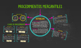 PROCEDIMIENTOS MERCANTILES