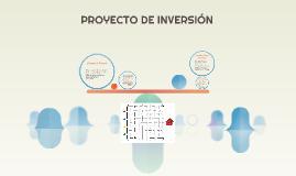 Sesión 2. Concepto proyecto de inversión