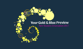 Your Gold & Blue Preview Spring 2018