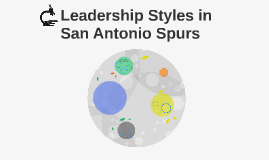 Leadership Styles in San Antonio Spurs