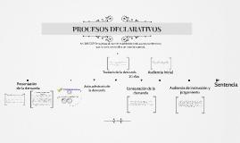 Copy of PROCESOS DECLARATIVOS