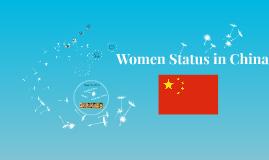 Women Status in China